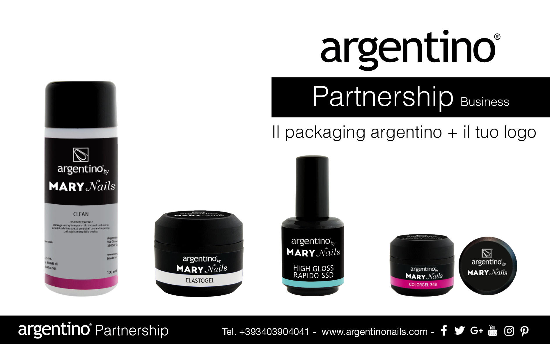 CREATE YOUR PRIVATE LABEL - Argentino Nails